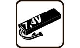 Аккумуляторы 7.4