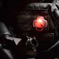 Element Сигнальный проблесковый красный маяк UFO Light Velcro (ID202-RED)